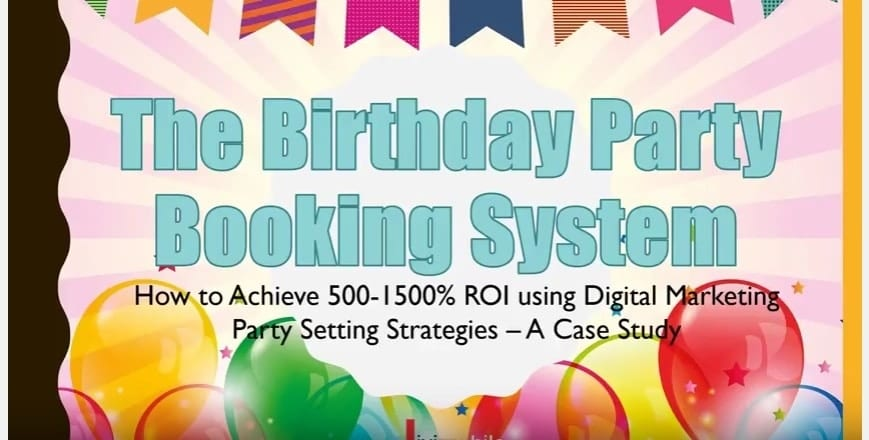 Case Study – Birthday Party Booking System